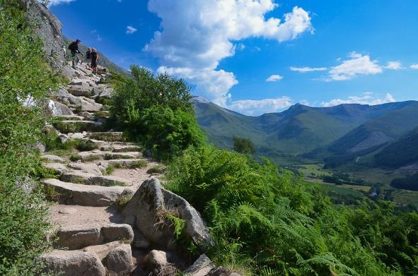 登山步骤图片