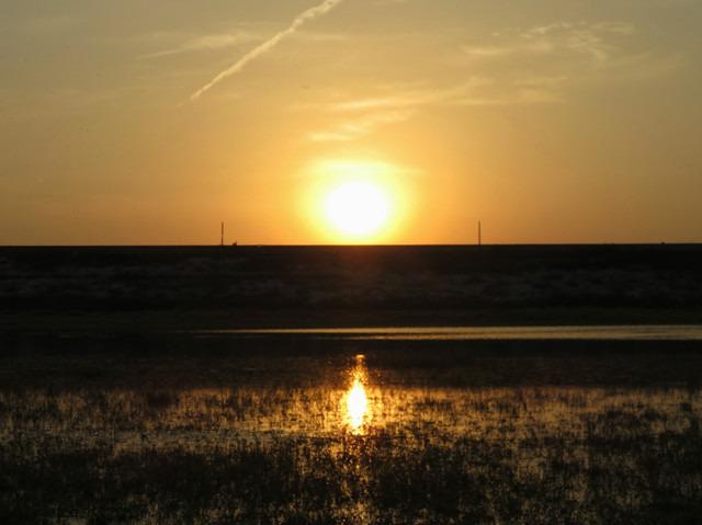 彩落日的风景画教程_背景 壁纸 风景 天空 桌面 640_479