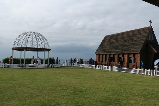 仪式亭和欧式教堂,在这儿办婚礼的确很浪漫