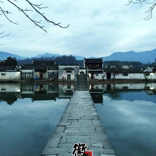 【风景】 宏村主要景区其实有两个,其一为南湖.