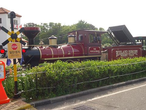 7, 森林小火车 ecoland生态主题公园,也叫森林小火车乐园,是目前济州