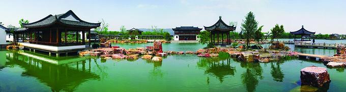 尚湖风景区图片