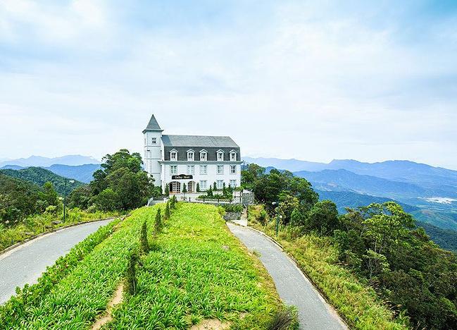 越南岘港蜜月旅拍 情定巴拿山 牵手美溪滩_岘港旅游图片
