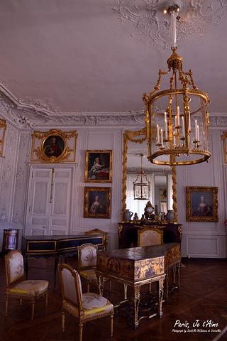 洛可可欧式皇宫室内景宫殿天顶画