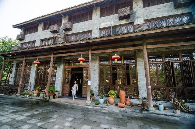 迷途武阳客栈的外观是按照当地的特色建筑来的,民宿的风格在这里一眼图片