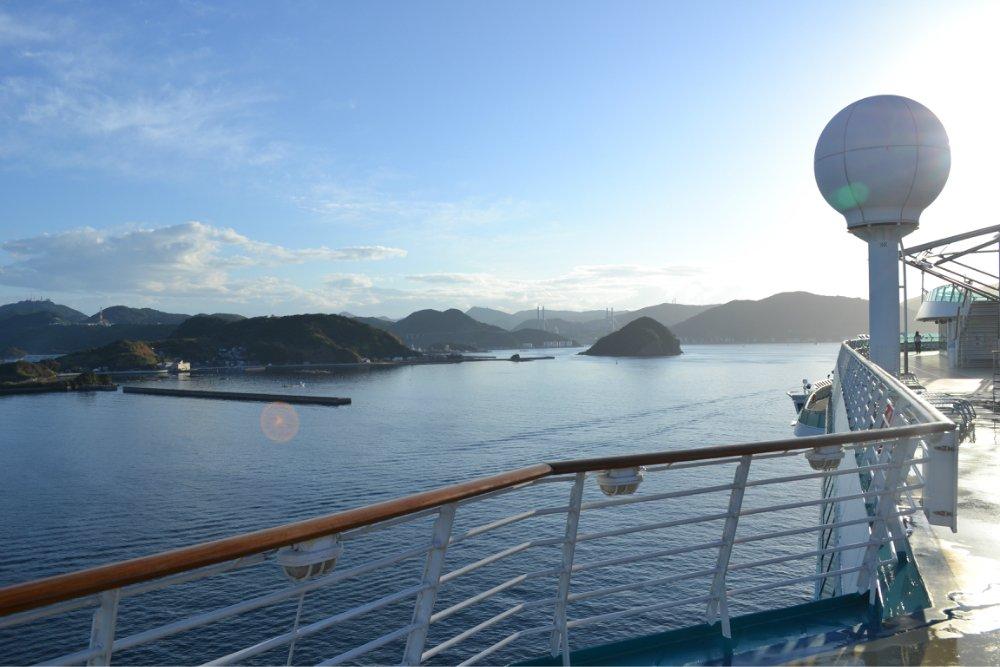 乘着豪华游轮,追逐梦幻的日韩之旅