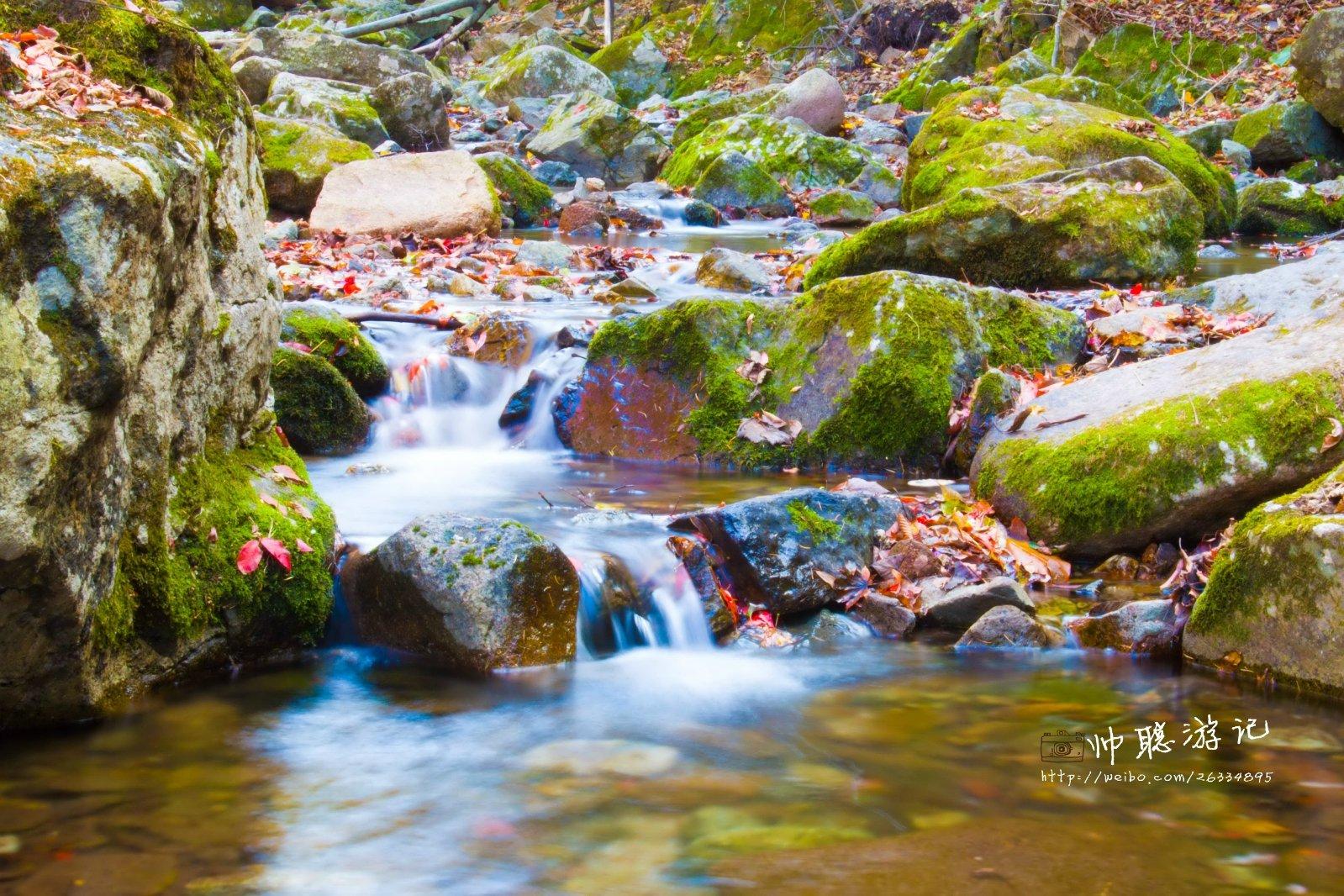 绿石奇境,红枫色彩——本溪绿石谷