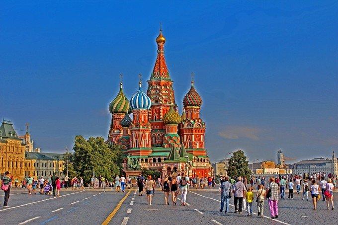 圣彼得堡,莫斯科双城游记