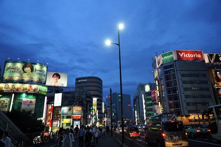 日本最著名的繁华商业区