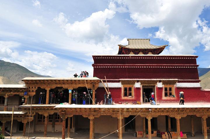 藏式寺庙设计图
