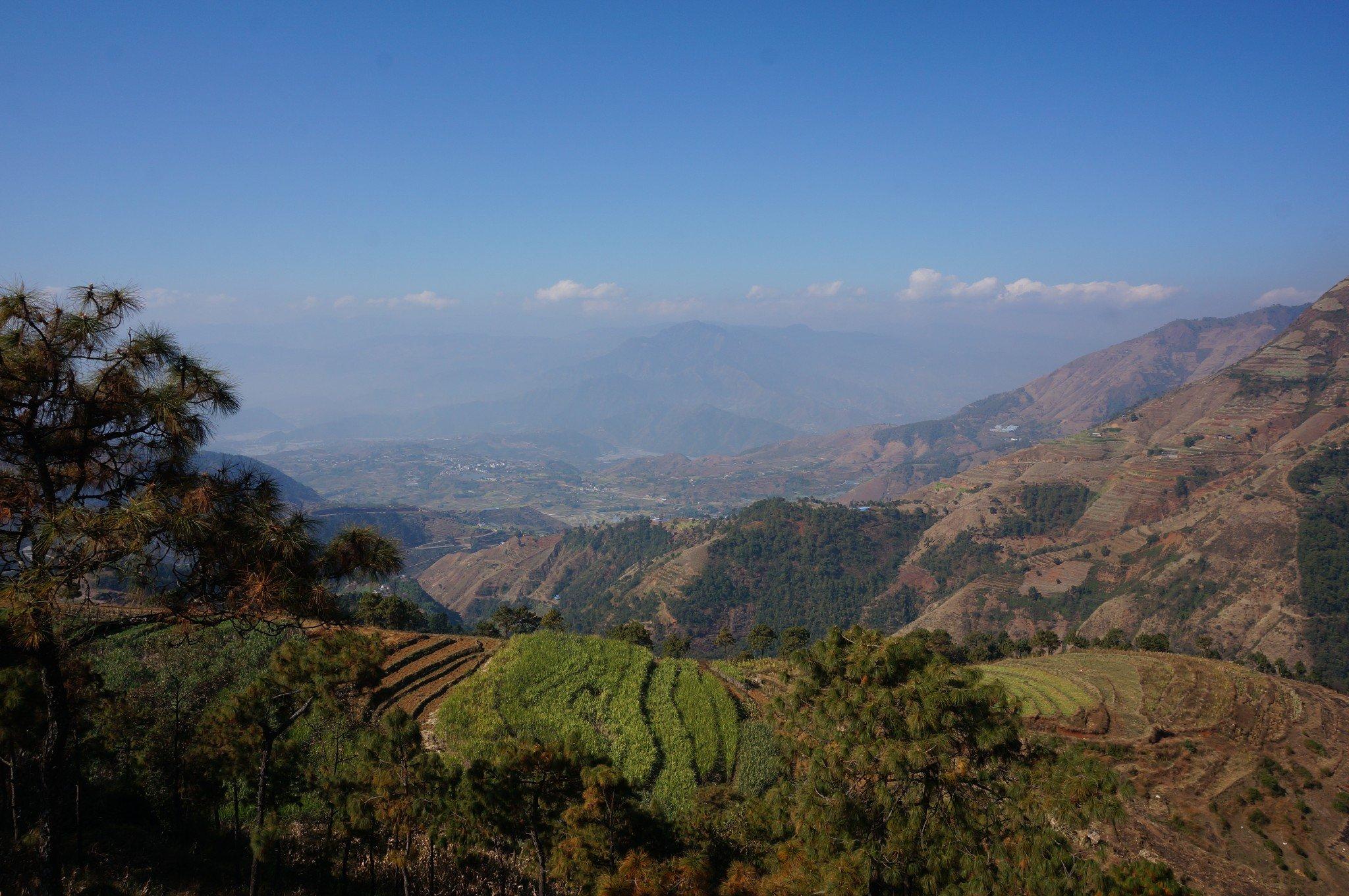 藏身深山的美景——米易新山梯田游记