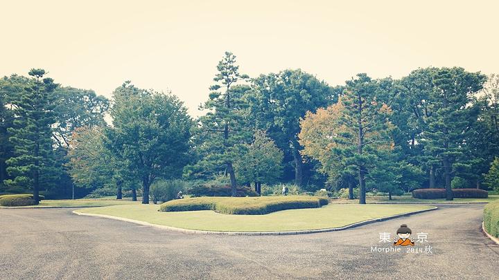 走着就来到了【千鸟渊公园】在春天的时候这里是东京的赏樱名所,樱花