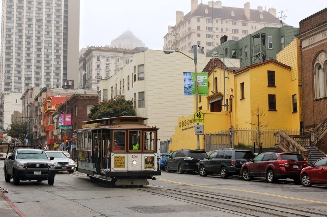 慢行旧金山之—信马由缰漫步雨城