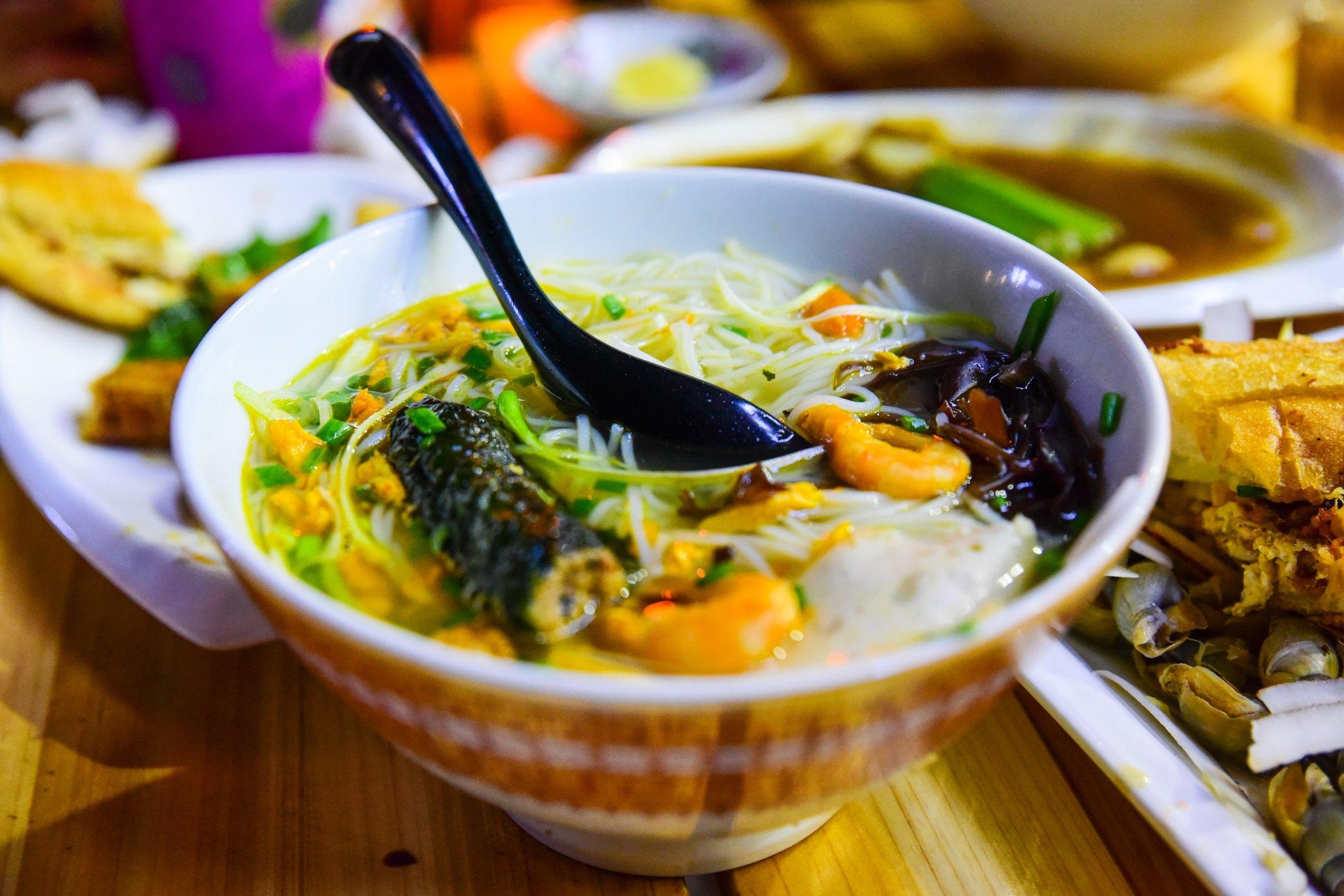 2019明翠炒螺店美食餐厅,一家这是极具越南特开美食城经验心得图片