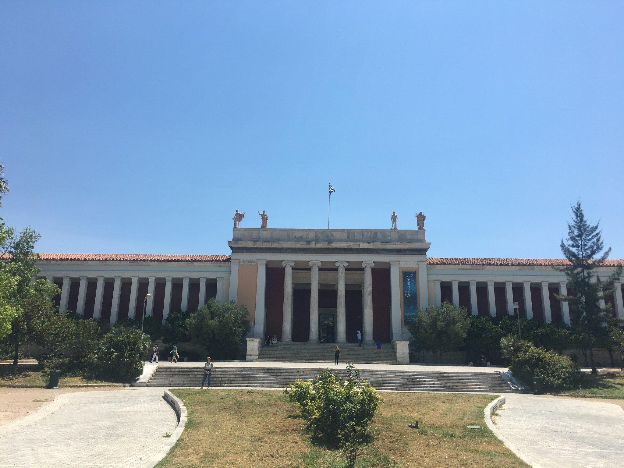 2017年7月2日-12日希腊雅典国家考古博物馆(7月11日)