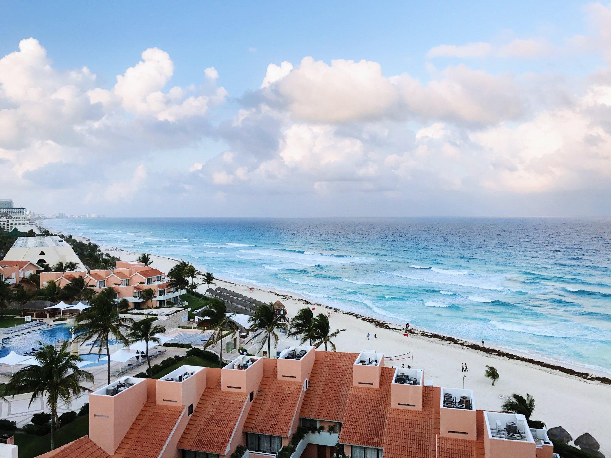 墨西哥坎昆 加勒比海边的悠闲躺吃指南