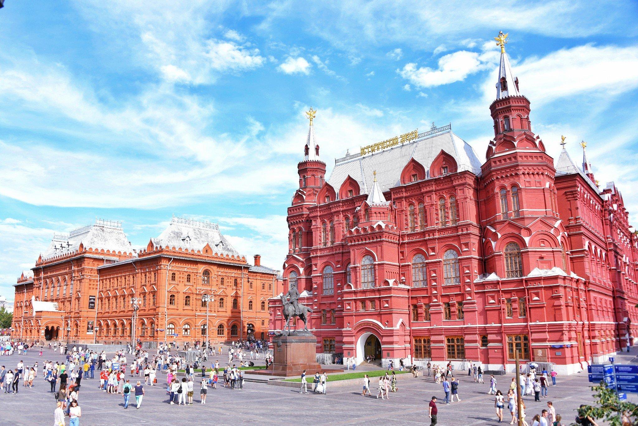 你说莫斯科太冷,我却看到了他温暖可爱的样子