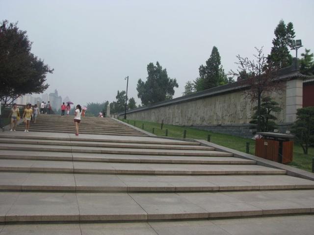 大雁塔广场图片