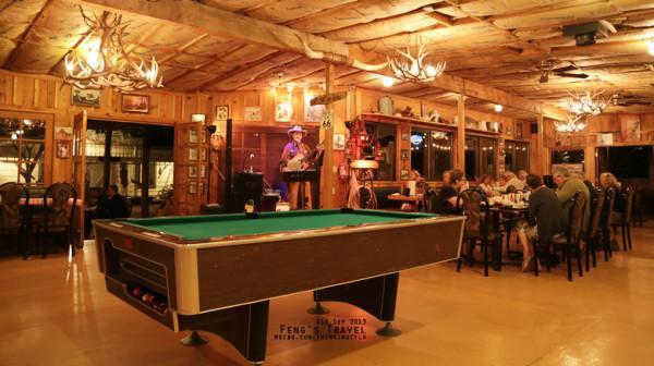 66号公路上的西部牛仔酒吧图片
