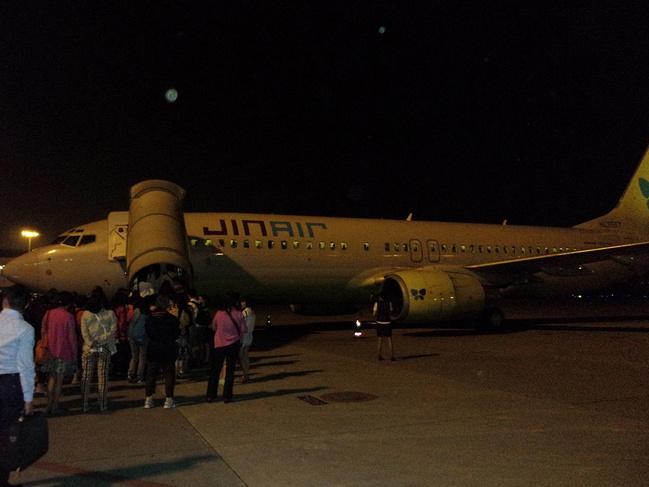 韩国真航空的飞机图片