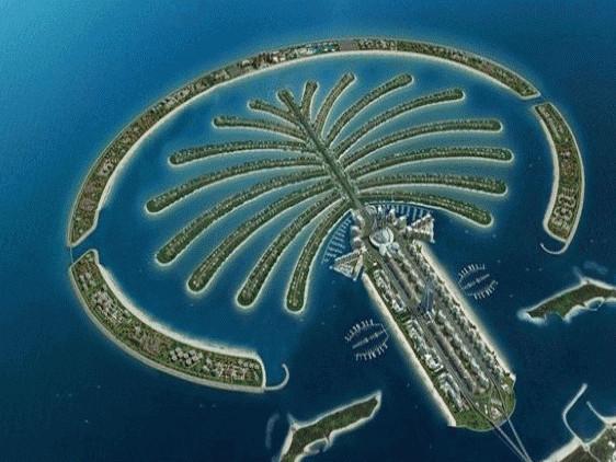 朱美拉棕榈岛(palm jumeirah)