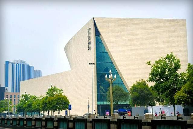 四川美术馆自1992年开馆以来图片