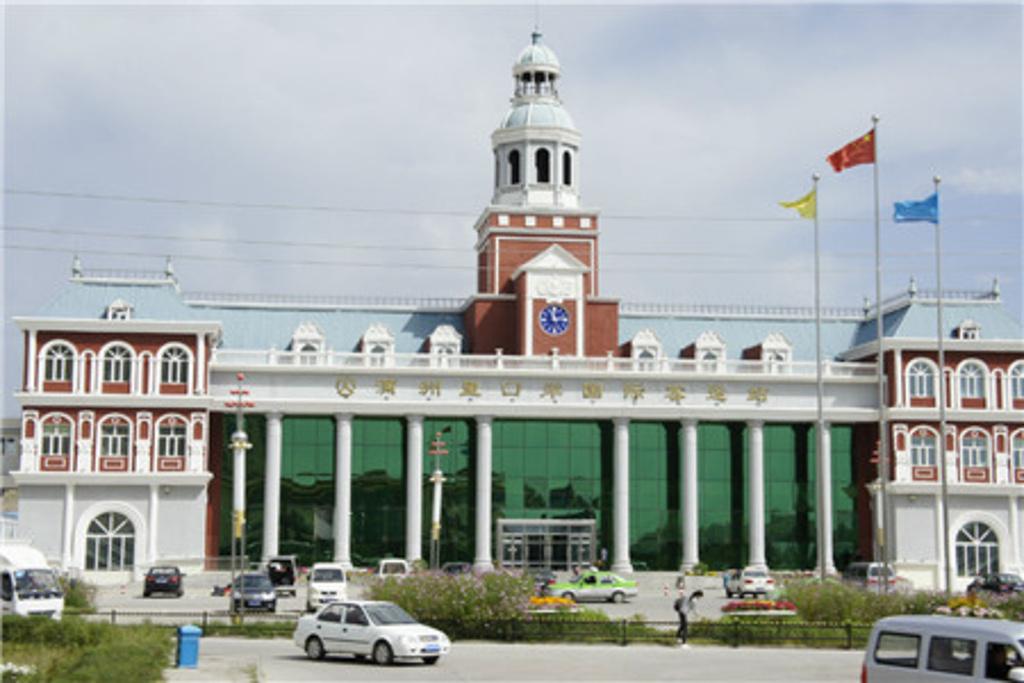 满洲里国际客运站旅游景点图片