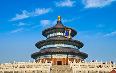北京简笔画带颜色