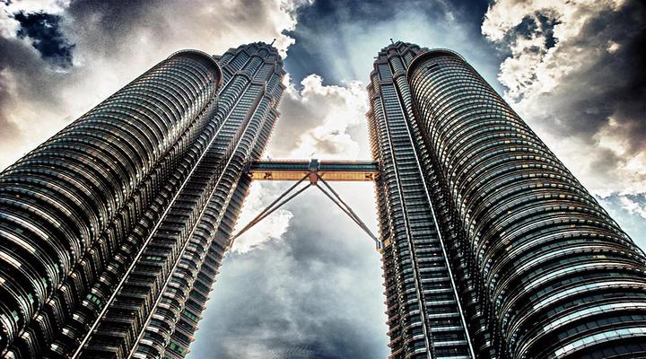 双子塔旅游图片