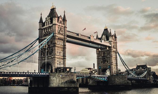 伦敦塔桥旅游图片