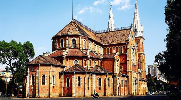 西贡王公圣母教堂旅游图片