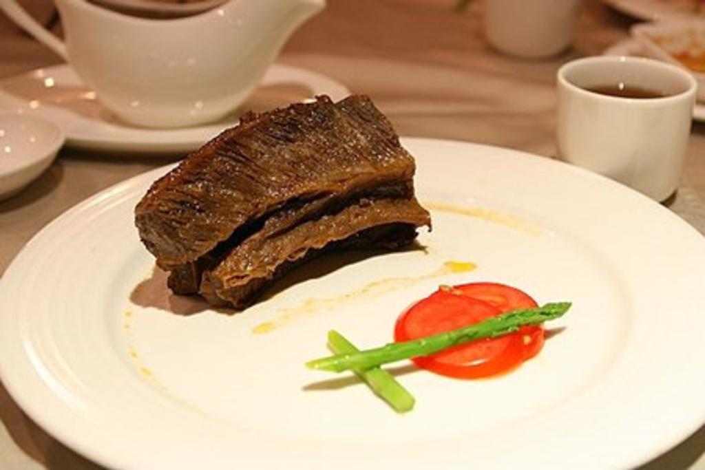 照片说明 台塑牛排 美国牛肉