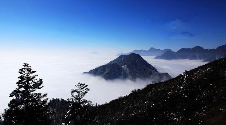 西岭雪山旅游图片