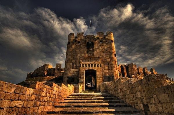 城堡搭建步骤图