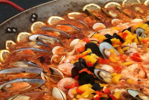 西班牙海鲜饭 Paella