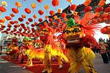 春节逛庙会