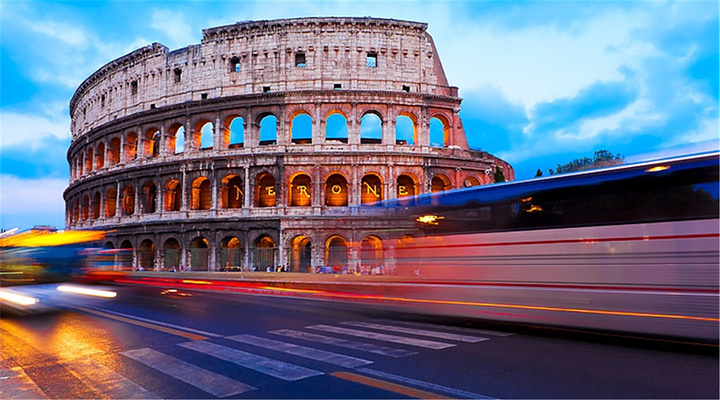 罗马斗兽场旅游图片