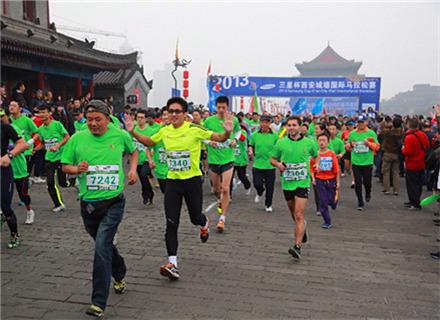 西安城墙国际马拉松友谊赛
