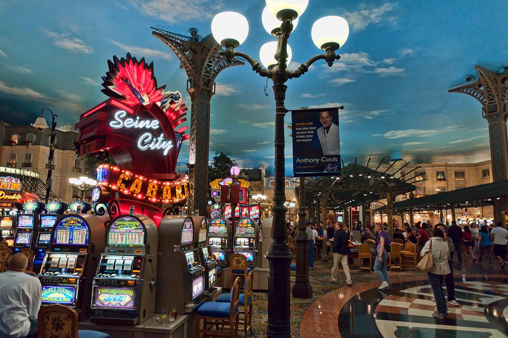 拉斯维加斯巴黎酒店赌场旅游景点图片