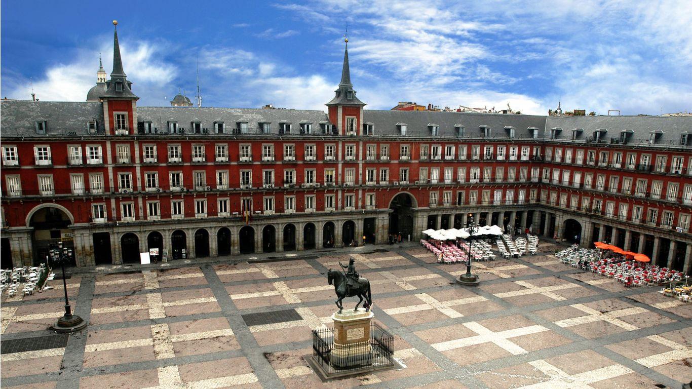 长方形城市中心广场平面设计图