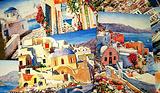 圣岛照片、油画、水彩画