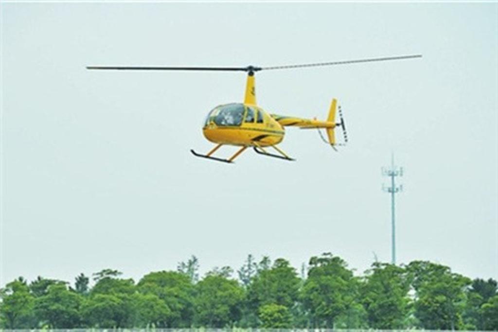 2016苏州直升机空中游览