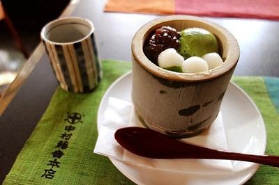 抹茶点心,抹茶果冻,抹茶冰淇淋,抹茶荞麦面等等所有你能想到的食物在