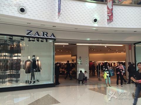 zara店面手绘图