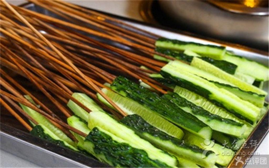 蔬菜串串矢量图