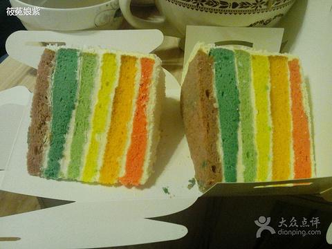 小米diy彩虹蛋糕的图片
