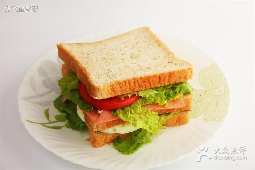 三明治的招牌制作图片