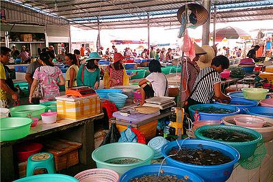 涠洲岛海鲜交易市场