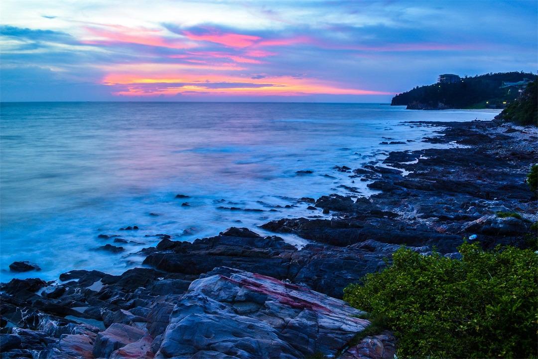 """而被中国国家地理评为""""中国最美小岛""""——北海涠洲岛,其梦幻如画的图片"""