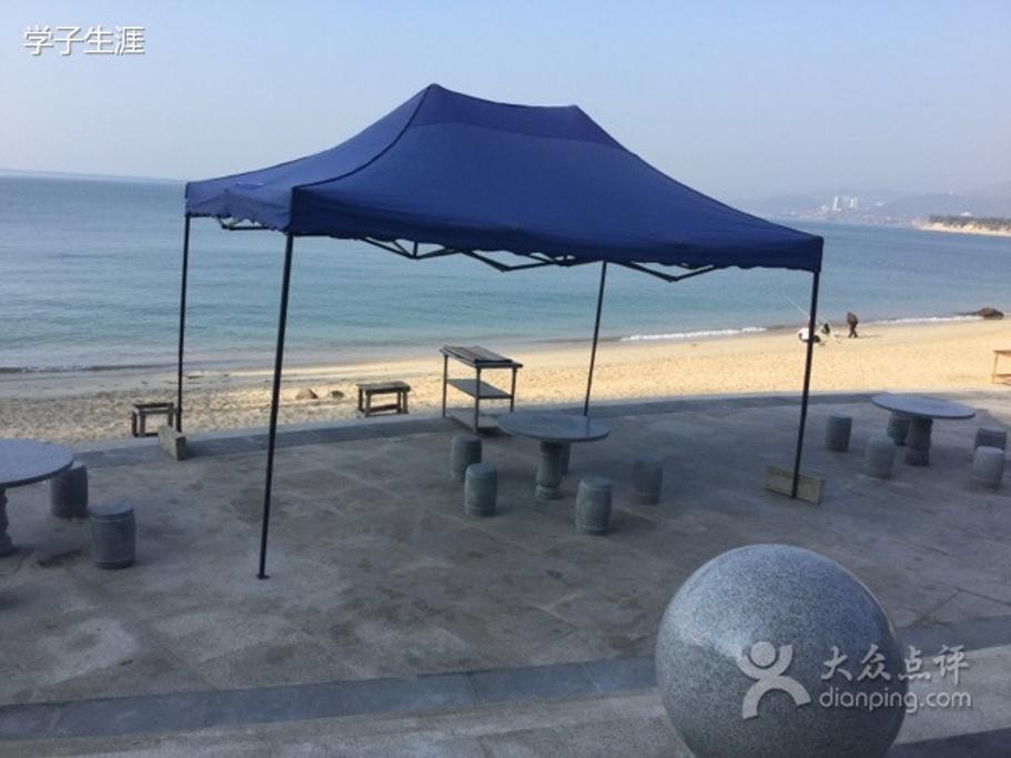 海边雨伞简笔画